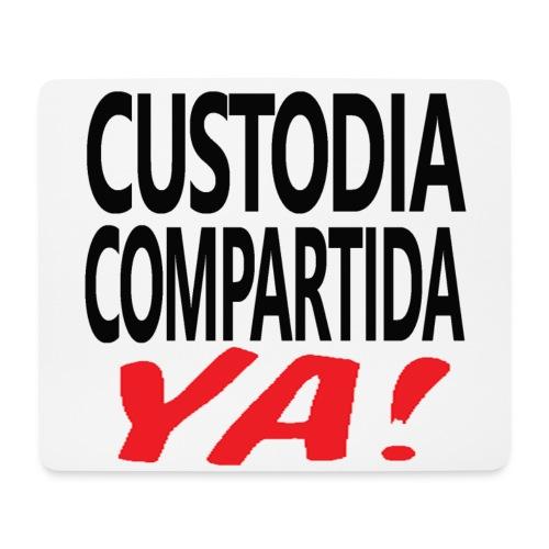Custodia Compartida YA Negro - Alfombrilla de ratón (horizontal)