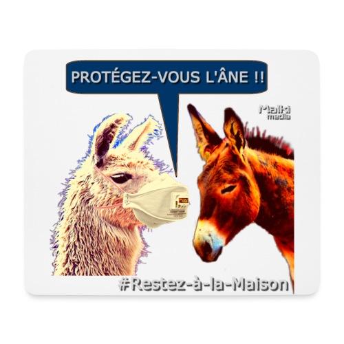 PROTEGEZ-VOUS L'ÂNE !! - Coronavirus - Mousepad (Querformat)