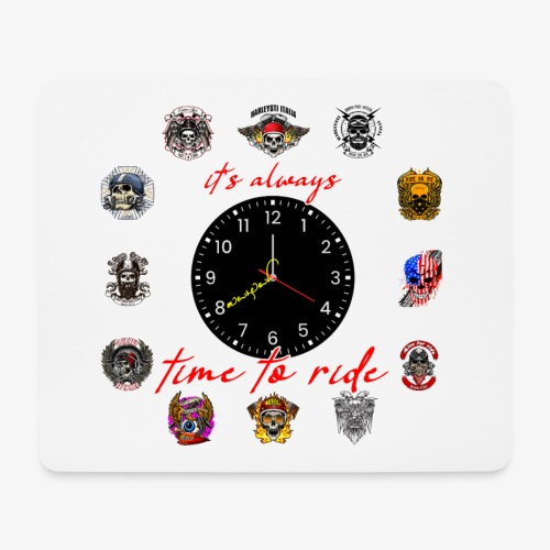 It's always time to ride - Collection - Tappetino per mouse (orizzontale)