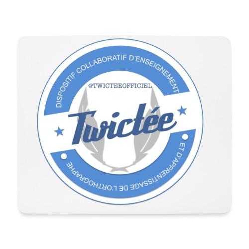 logo twictee - Tapis de souris (format paysage)