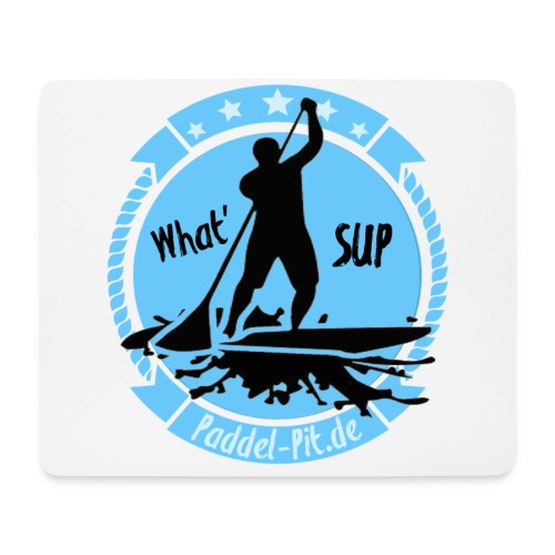 What`SUP. SUP Board Stand Up Paddling Sport - Mousepad (Querformat)