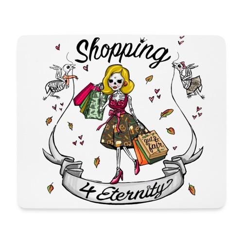 Shopping für immer & ewig, Herbst-Liebe - Mousepad (Querformat)