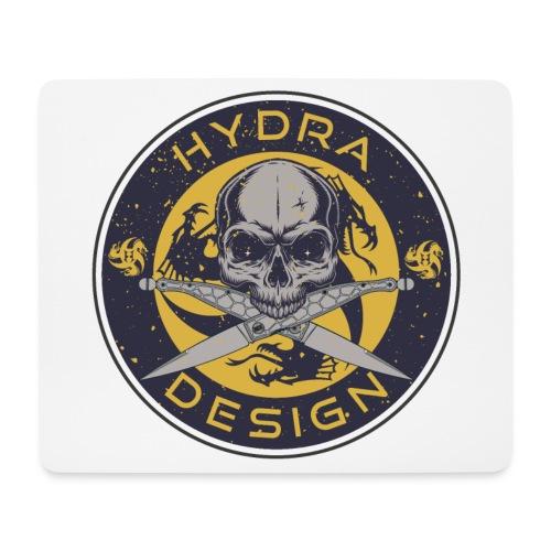 Hydra Design Roman knives & skull - Tappetino per mouse (orizzontale)