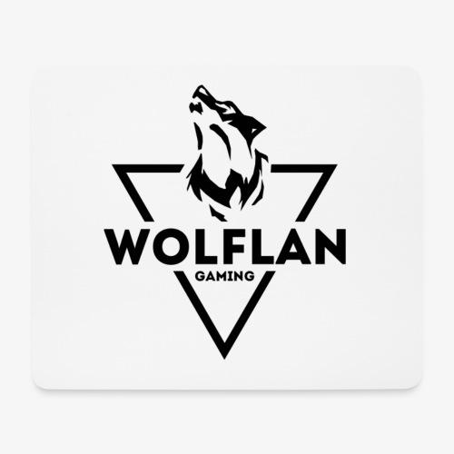 WolfLAN Gaming Logo Black - Mouse Pad (horizontal)