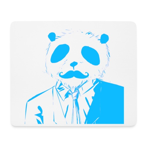 BluePanda Logo - Mouse Pad (horizontal)