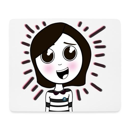 Happy girl ! - Tapis de souris (format paysage)