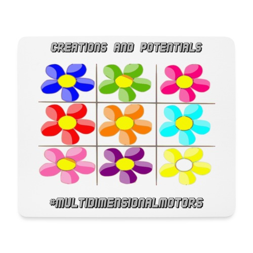 logo of my #MultiDimensionalMotors blog - Tappetino per mouse (orizzontale)