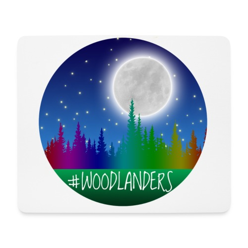 #Woodlander - Mouse Pad (horizontal)