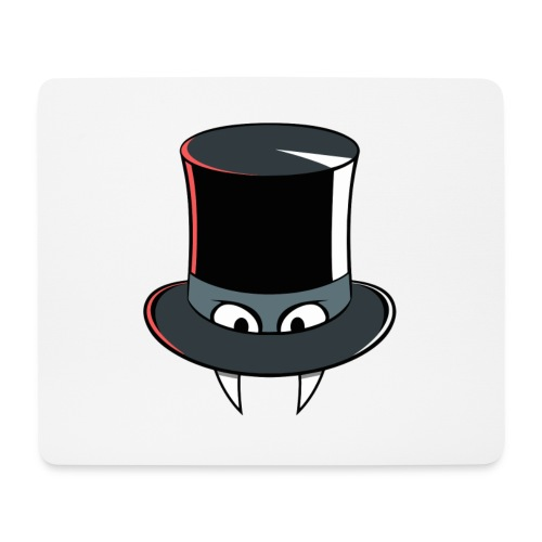 hat_plain - Mouse Pad (horizontal)