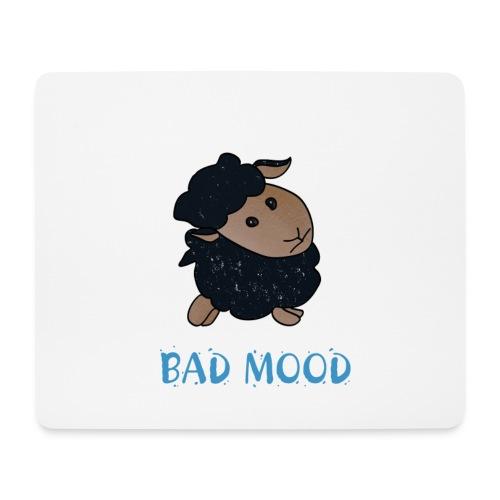Badmood - Gaspard le petit mouton noir - Tapis de souris (format paysage)