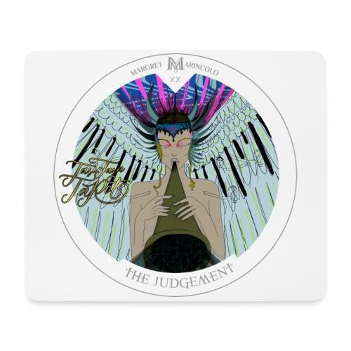The Judgement | Das Gericht Tarot Karte rund - Mousepad (Querformat)