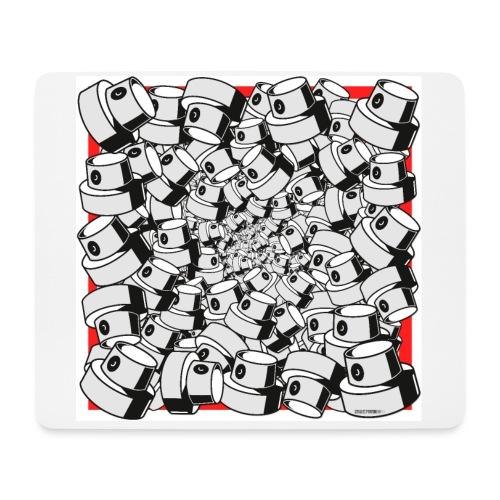 Fap Caps Infinity Square Poster - Mousepad (bredformat)