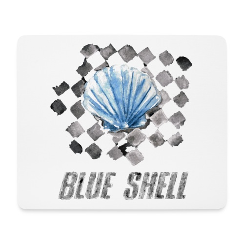 BLUE SHELL WINTER EDITION - Mousepad (Querformat)