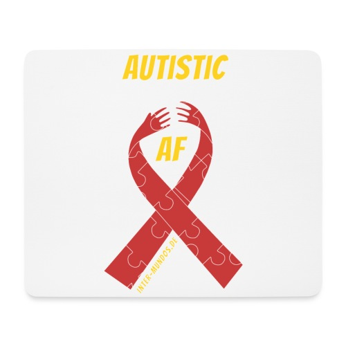 Autistic as F*** - Mousepad (Querformat)