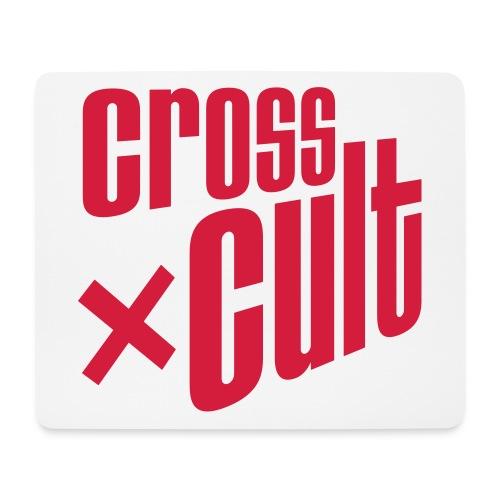 Cross Cult Logo Rot - Mousepad (Querformat)