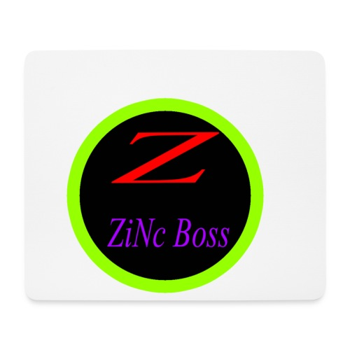 ZiNc Boss Profile pic png - Mouse Pad (horizontal)