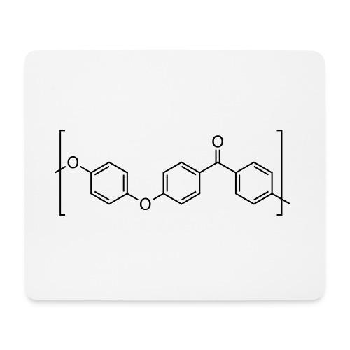 Polyetheretherketone (PEEK) molecule. - Mouse Pad (horizontal)