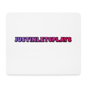 JustinLetsPlays Mousepad - Mousepad (Querformat)