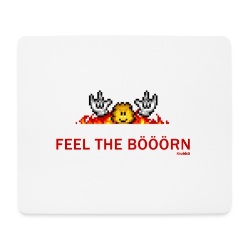 Feel The Boern - Mousepad (Querformat)