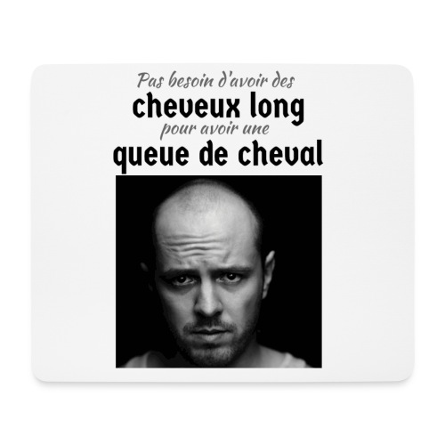 Humour Chauve ! - Tapis de souris (format paysage)