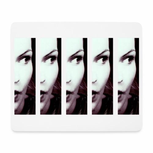 Duplicate girl - Mouse Pad (horizontal)