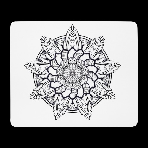 Mandala - Tappetino per mouse (orizzontale)