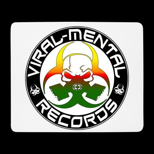 Viral Mental Records Logo - Mouse Pad (horizontal)
