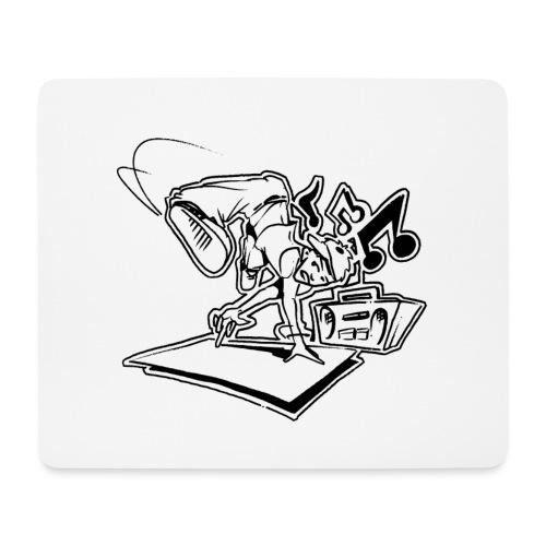 √ Breakdancer handstand - Mousepad (bredformat)