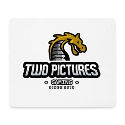 TwoPictures Gaming - Yellow Logo 2017 - Mousepad (Querformat)