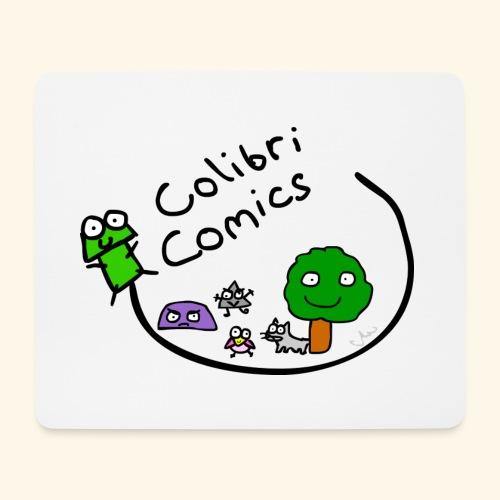 Colibri Comics Logo Gecko huii - Mousepad (Querformat)