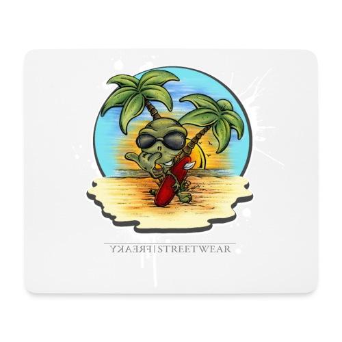 Let's have a surf back home! - Mousepad (Querformat)