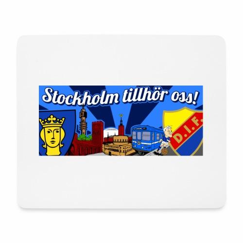 stockholm tillhör oss! - Musmatta (liggande format)