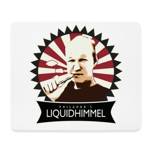 liquidhimmel_weiß - Mousepad (Querformat)