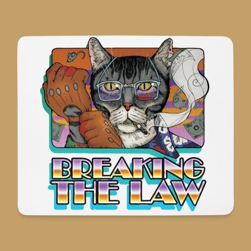 Crime Cat- Breaking the Law - Podkładka pod myszkę (orientacja pozioma)