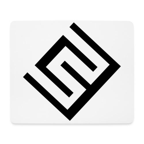 ChrisWhippit Logo svart - Musmatta (liggande format)