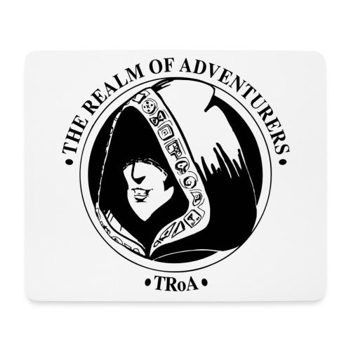 TRoA Logo Sort - Mousepad (bredformat)