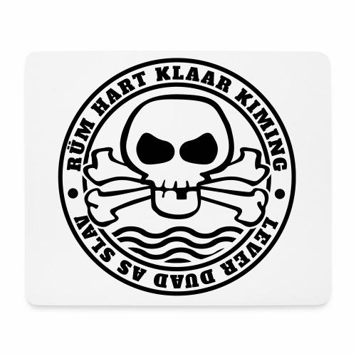 Rüm Hart Klaar Kiming - Lever Duad As Slav - Mousepad (Querformat)