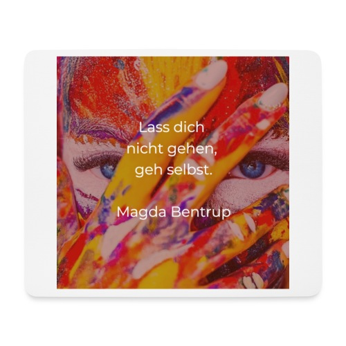 Geh selbst - Mousepad (Querformat)