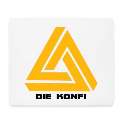 Die Konfi mit Gelb und schrift png - Mousepad (Querformat)