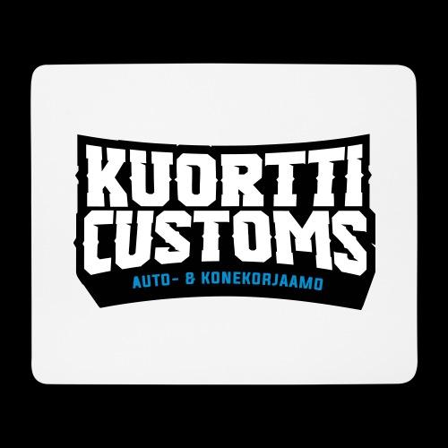 kuortti_customs_logo_main - Hiirimatto (vaakamalli)