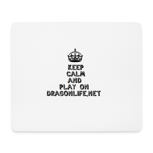 Keep Calm DragonLife - Mousepad (Querformat)