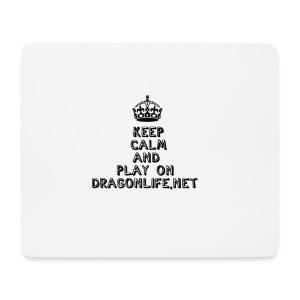 Keep Calm DragonLife - Mousepad (Querformat)