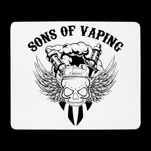 Sons Of Vaping - Tappetino per mouse (orizzontale)