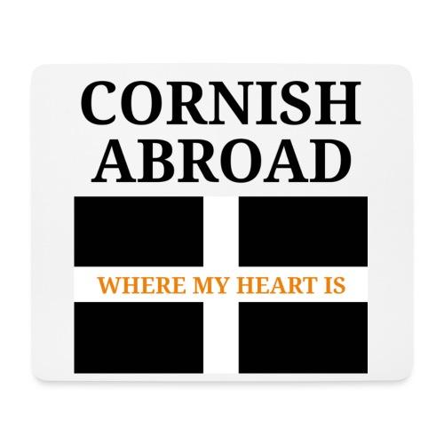 Cornish abroad - Mouse Pad (horizontal)