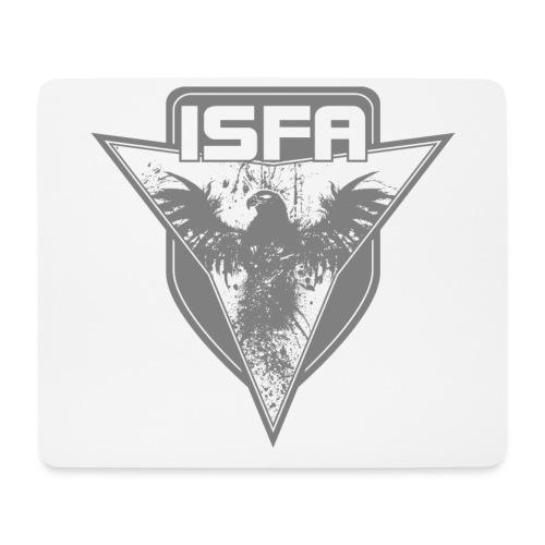 isfa logo 1c grau - Mousepad (Querformat)