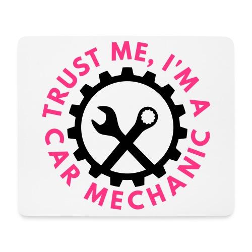 Trust me, I'm a car mechanic - customizable colors - Hiirimatto (vaakamalli)