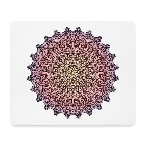 Mandala Sonnenuntergang - Mousepad (Querformat)
