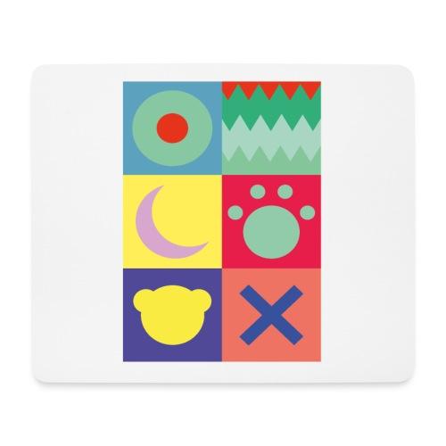 Ostfriesland Wappen - Minimalistisch - Mousepad (Querformat)