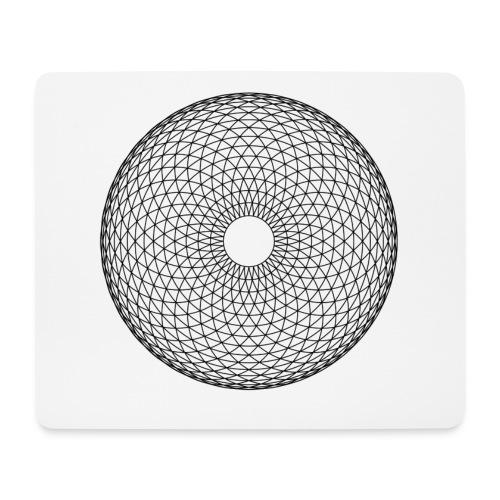 Torus Yantra - Hypnotic Eye - Mousepad (bredformat)
