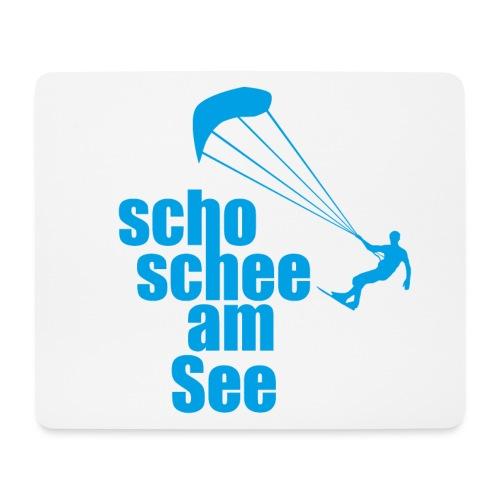 scho schee am See Surfer 01 kite surfer - Mousepad (Querformat)